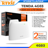 Tenda 4G03 Modem Wifi 4G LTE All Kartu Modem 4G Tenda N300 Wirelles