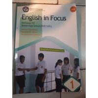Buku BSE: English In Focus Kelas 7 SMP, Artono Wardiman dkk
