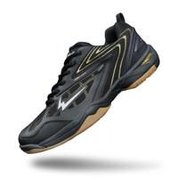 Sepatu Eagle Commando 2 Hitam Emas – Badminton Shoes