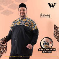 WGB Koko Batik Panjang Pria Asfar Big Size Ukuran Besar Jumbo XXL XXXL