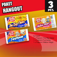 Paket Hang Out (1TBC, 1FM, 1MM) - Jolly Time Microwave Popcorn