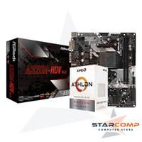 AMD ATHLON 3000G ASROCK A320M-HDV PAKET BUNDLING
