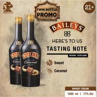 Baileys Salted Caramel 1L 2 Bottles Promo