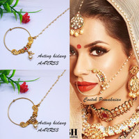 Nosering / Anting Hidung / Nath India Model Jepit AANR53