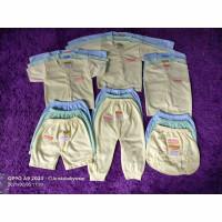 Paket Baju Bayi Stelan Bayi (9Stel) - polos/ bordir