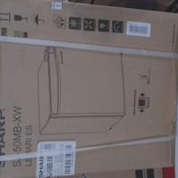 sharp sj 50mb xw kulkas portable/mini bar SHARP