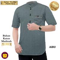 LM 18849-18855 Baju Muslimin Koko Pria TOJIRO Bahan MADINAH Premium