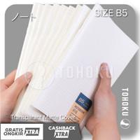 Buku Tulis Simple Notebook B5 Polos Blank / Grid / Dotted (Muji Style)