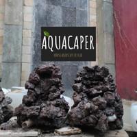 WATERFALL tebing aquascape 100% work