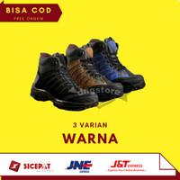 Promo Sepatu Boots Pria Crocodile Safety Boot Proyek Murah Grosir