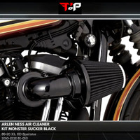 ARLEN NESS AIR CLEANER KIT MONSTER SUCKER BLACK 81-010 HD 1010-2112