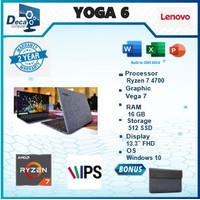 Lenovo Yoga 6 13 2in1 Touch FABRIC Ryzen 7 4700 16GB 512ssd Vega7 W10