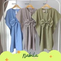 Nabila Kaftan Dress Anak by Ichigo Baju Lebaran Akikah Pesta Mewah Nya