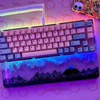 Wrist Rest Keyboard Mouse Resin Art Aksesoris Komputer PC Gaming PO ML