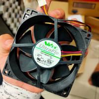 cooling fan kipas pendingin merk nidec brushless high speed 12v 9cm