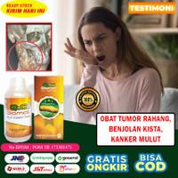 Obat Tumor Rahang, Benjolan Kista, Kanker Mulut Herbal QnC Jelly Gamat