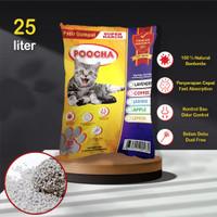 Pasir Kucing Poocha 25 Liter - Gumpal Wangi Bentonite