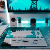 Wrist Rest Keyboard Mouse Resin Art Aksesoris Komputer PC Gaming PO