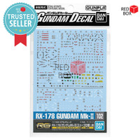 Bandai Decal RG Gundam MK II No 102 Water Slide Decals AEUG Titans