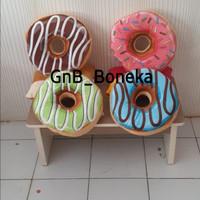 Bantal alas duduk Donut 35CM , BANTAL Boneka Donut Lucu