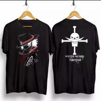 T-shirt Luffy Ace / Baju Kaos Distro Pria Wanita Kaos Samurai