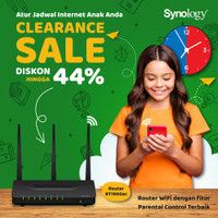 SYNOLOGY RT1900ac WiFi Router AC1900 Dual Band - 01
