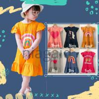 Baju Dress Anak Perempuan 1 2 3 4 5 Tahun Murah No Import