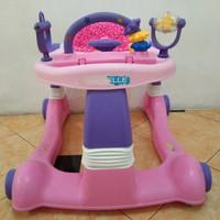 baby walker babyelle 0188 2in1