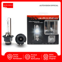 Autovision D2S Xenon Bulb Carbon Bohlam Lampu [12V/35W/4300K] AD2SHCC4