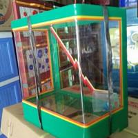 aquarium es kelapa besar/ tempat es buah/ aquarium kelapa