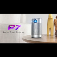 Byintek Portable Smart Projector UFO P7 Proyektor Portabel Mini