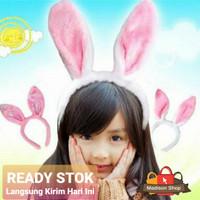 Bando Kelinci Kuping Panjang Premium Cosplay Bando Easter Rabbit Ear