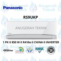 AC SPLIT PANASONIC 1 PK 1 PK R410a INVERTER - RS9UKP