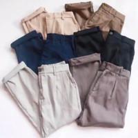 celana baggy pants wanita || Formal Casual