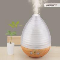 Humidifier Oil Diffuser Aroma Terapi Egg Shape 235ml Lampu Tidur RGB
