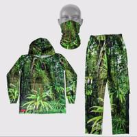 stelan camo hunting baju buff celana