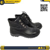 TERL4RIS Sepatu Safety Shoes Steel Toe AP MAX Boot Hitam Sepatu Pria O