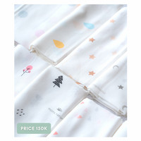 Bamboo Cloth Diaper Mom's Nature / Popok Kain Bayi - Circle