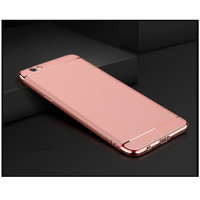 TERB4RU Oppo F1s A59 3in1 Protect Plating Case Rose Gold HCP