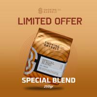 LIMITED OFFER - Smoking Barrels Special House Blend 250GR (Espresso)