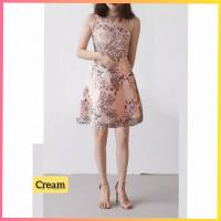 baju dress pesta anak 16-22thn perempuan remaja daisy gaun cream