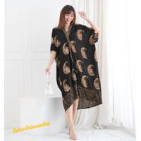 KAFTAN batik dress. Terusan Caftan batik cap paris - Crescent