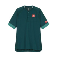 Uniqlo Polo Shirt Roger Federer Doha 2021 Tennis Baju Tenis Original