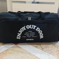 Tas Travel Bag Besar Jumbo Travelbag Pakaian Barang Mudik Jinjing Pria