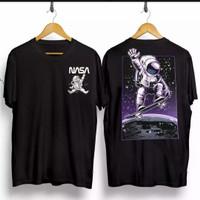 T-shirt Ast NASA / Baju Kaos Distro Pria Wanita Cotton 30s