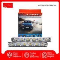 APEX CAR DRL ST004 12 LED 12V WHITE ADADRCLW