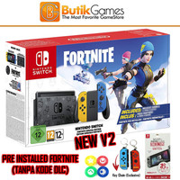 Nintendo Switch V2 New Model Special Fortnite Edition