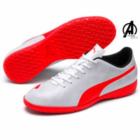 Sepatu Futsal Puma Rapido IT Original Putih