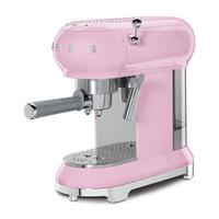 Smeg Espresso Coffee Machine 50's Style PINK - ECF01PKEU