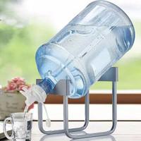 Stand Aqua Tempat Dudukan Galon Air Rak Kaki Keran Kran Air Minum